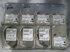 Lot of 8 Hitachi Deskstar, 7200 RPM, 500GB, SATA, Desktop Internal Hard Drive