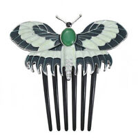 Women Girls Jewelry Gift Vintage Fashion Titanic Butterfly Hairpins Hair Comb