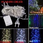 96/150/240/300 LED Fairy String Lights Christmas Xmas Party Wedding Curtain Lamp