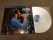 Bob Marley & the Wailers Live From The Santa Barbara Bowl Laserdisc Music