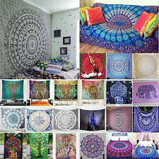 tenture tapisserie murale Couvre lit indien grand châle Hippie Mandala BOHO