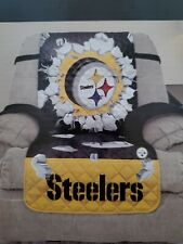 NEW NFL Licensed Pittsburgh Steelers Quilted Recliner Protector