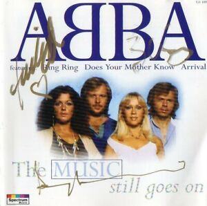 abba cd signed by 2 of the band