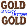 Self Adhesive Stick On Glitter Alphabet Letters  For Card Making Craft