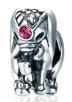 Thailand Lucky Elephant Charm 100% 925 Sterling Silver Pandora
