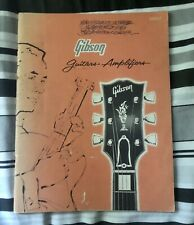 More details for 1962 gibson catalogue (full line catalog) les paul sg 355 345 335