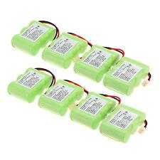 8Pcs 400mAh 3.6V Home Phone Battery Use for Vtech BT-17333 BT17333 BT-163345