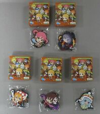 Etrian Mystery Dungeon Rubber Strap Key Chain Lot of 5 Figures Minis Nintendo