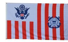New listing Maritime banner Ensign of the Coast Guard flag 3x5ft banner Us shipper
