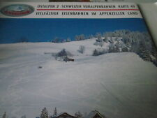 Alpenbahnen N Ostalpen 2 Schweiz Bahnen im Appenzeller Land K 49