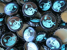 100 ( Saltfire Brewing ) beer bottle Caps (No Dents). Free S&H