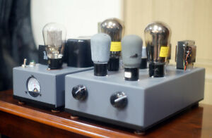 RE604 Single ended Tube Power Amplifier separated Power Supply with RGN2004