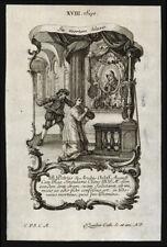 santino incisione1700 S.PIETRO D'AURBES M.   klauber