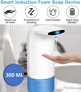 300 ML Automatic Foam Soap Dispenser Hands-Free Touchless Kitchen Bathroom