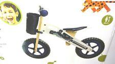 Kinderkraft Runner Laufrad aus Holz mit Tasche und Klingel in weiß  *NEU*