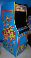Ms. PacMan Multicade Classic Arcade Machine Plays 60 Games! Pac Man -- BRAND NEW