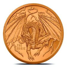 NEW World of Dragons Series #4 - NORSE - 1 oz Copper .999 Fine - Ship TODAY!!