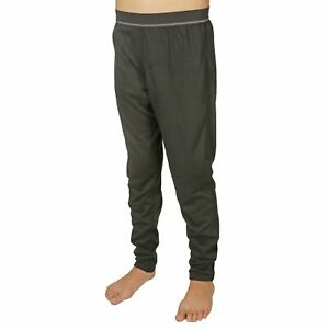 New Hot Chillys Youth Kids Pepper Skins Running Stretch Base Layer Pants Size XL