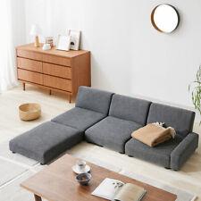 Stylish low sofa set Kotatsu sofa reclining corner sofa