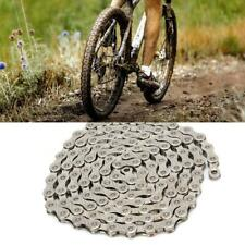 Mountain Bike Chain Stainless Steel Anti-Rust Parts for 10/30 Speed Bicycle