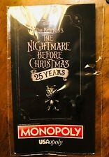 JACKS VAMPIRE TEDDY NIGHTMARE BEFORE CHRISTMAS 25TH ANN SDCC MONOPOLY TOKEN PIN