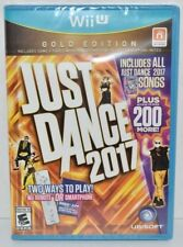Just Dance 2017: Gold Edition (Nintendo Wii U, 2016) Brand New Factory Sealed