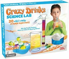 SmartLab Toys Crazy Drinks Science Lab 11Piece 20 Experiments Includes UV STEAM