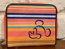 Disneyland Rainbow Nylon Wallet Mickey Mouse