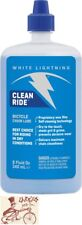 WHITE LIGHTENING CLEAN RIDE BICYCLE LUBE LUBRICANT--8oz DRIP