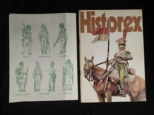 HISTOREX Catalogue with sheets 1-24. COLOR photos MINIATURES hobby figures
