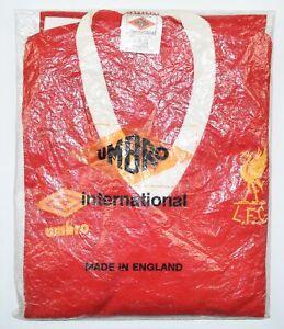1976-1982 LIVERPOOL UMBRO HOME FOOTBALL SHIRT (SIZE Y) - BNIB