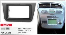 CARAV 11-582 2DIN Car Radio Dash Kit panel for SEAT Altea 04+, Toledo 2004-09 LW