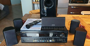 Sintoamplificatore Onkyo TX-SR508 Black HDMI 7.1 Home Theatre Subwoofer 5 casse