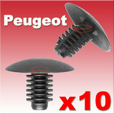 PEUGEOT 106 206 406 WHEEL ARCH INNER SPLASH GUARD TRIM CLIPS SPLASHGUARD