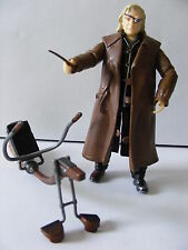 Harry Potter Loose Figure Professor Mad Eye Alastor Moody, Wand and Broomstick