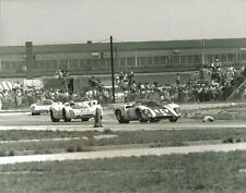 Vintage 8 X10 1969 Sebring Swiss Lola T70 Mk III, Porsche 908 & 907, Ford GT 40