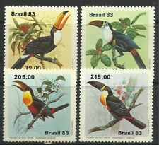 BRAZIL. 1983. Toucans Set. SG: 2015/18. Mint Never Hinged