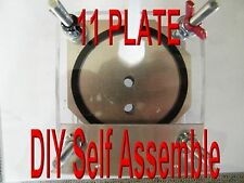 HHO 11 PLATE  DRY CELL   BUILD IT YOURSELF   HYDROGEN GENERATOR. FUN ACTIVITY