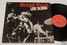 GRAND FUNK:2LPS-LIVE-OIRG. 1° PRESSING ITALY 1971 EX