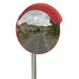 """Driveway Convex Safety Mirror 45cm Road Blindspot Garage Mirror 18"""""""