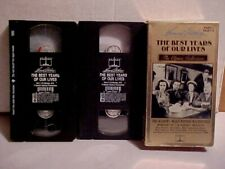 The Best Years of Our Lives, Federic March, Dana Andrews, Vhs 2 Tapes S1