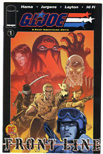 G.I. Joe Frontline # 1 Dynamic Forces Exclusive Blue foil Variant cover Gi Joe