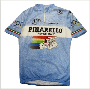 Giordana Sport Pinarello Treviso Cycling Jersey M Italy Olympic Games Vintage