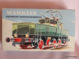 Märklin electrik Rangierlok.  HO 3001 E6302  Locomotive de manoeuvre