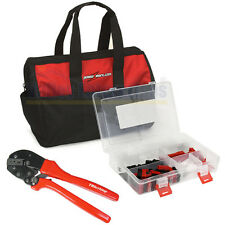 Anderson Powerpole Crimping Tool and 150 pc Connector Kit in Nylon Gear Bag