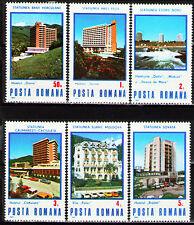 Romania 1986 Sc3373-78 Mi4253-58 6v mnh Hotels