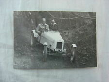 Vintage Press Photo Men in Hill Climb Racing Car 805NBY215