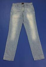 Energie jeans donna W30 tg 44 leggeri blu azzurri slim pantalone usati T2147