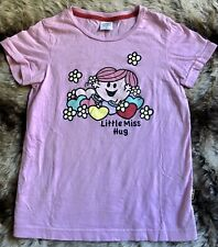 Ladies Mr. Men Little Miss Short Sleeve T Shirt Size Small Pink