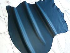 LEDER TIP 32823-OB, Lederreste, 1 Lederhaut, petrolfarben nappa